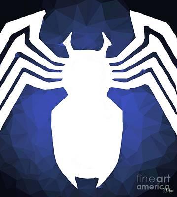 Comics Digital Art - The Spider by Helge
