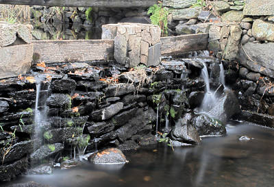 Photograph - The Spillway by Mark Wiley