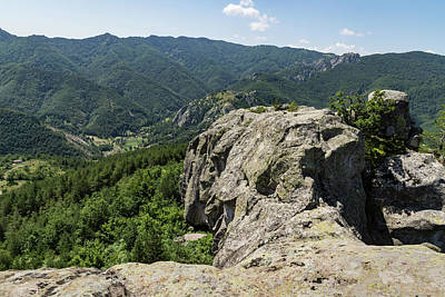 Photograph - The Spine Of The Mountain - Rough Rocks And Vistas by Georgia Mizuleva