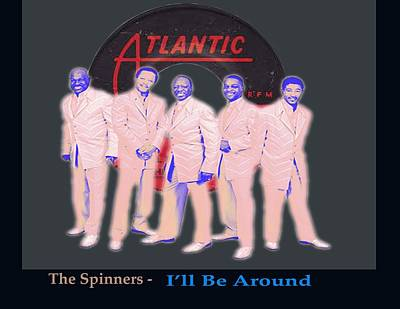 Digital Art - The Spinners by Michael Chatman