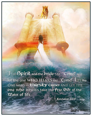 The Spirit And The Bride Art Print