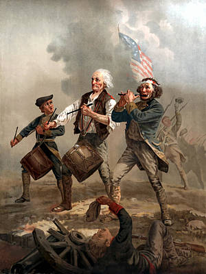 Revolutionary War Painting - The Spirit Of '76 by War Is Hell Store