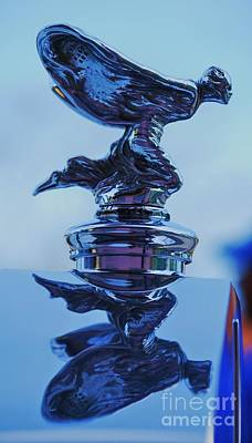 Reflecting On The Spirit Of Ecstasy  Art Print