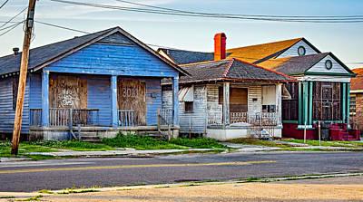 Shotgun Houses Wall Art - Photograph - The Spirit Of New Orleans by Steve Harrington