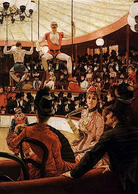 Digital Art - The Sporting Ladies by James Jacques Joseph Tissot