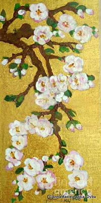 Painting - The Spring 2 by Anna Folkartanna Maciejewska-Dyba