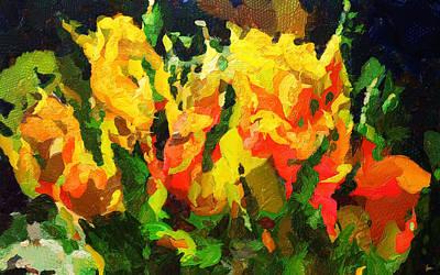 The Spring Of Genius - Painting - Wet Paint Original