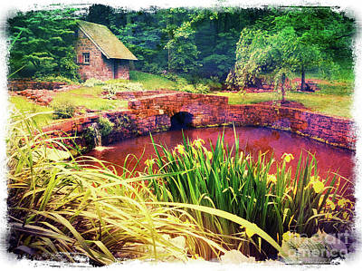 Photograph - The Springhouse by Kevyn Bashore