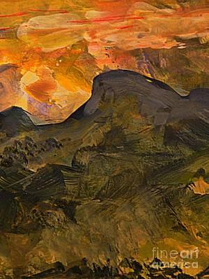 Digital Art - The Sprit Of The Mountain by Nancy Kane Chapman
