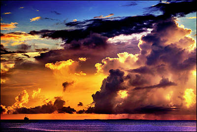 Summer Squall Photograph - The Squall by Brandon Hunter