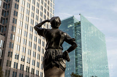 Photograph - The Square In Uptown Charlotte by Kevin McCarthy