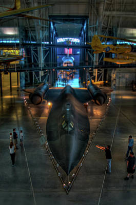 The Sr-71 Art Print