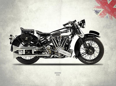 Photograph - The Ss100 1938 by Mark Rogan