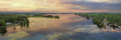 1000 Islands Wall Art - Photograph - The St. Lawrence Seaway by Lori Deiter