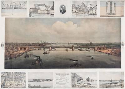 The St. Louis Bridge Now Named Eads Art Print
