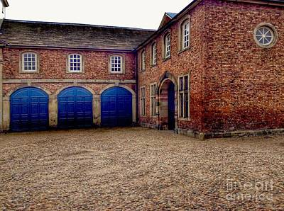Dunham Massey Photograph - The Stables 2 by Joan-Violet Stretch