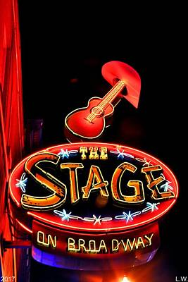 Photograph - The Stage by Lisa Wooten