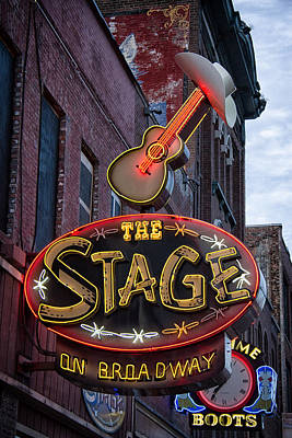 Layla Photograph - The Stage Nashville by Mike Burgquist