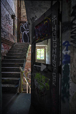 Photograph - The Stairs Beyond The Door by Lindy Grasser