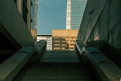 Photograph - The Stairs by City Street Photos