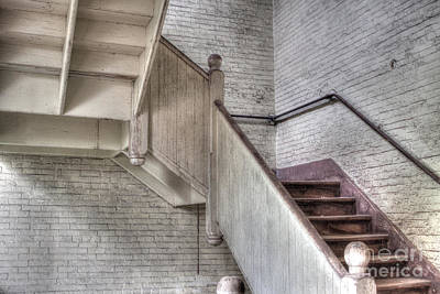 Photograph - The Stairs Horizontal by David Bishop