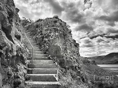 Photograph - The Stairs To The Caves by Tara Turner