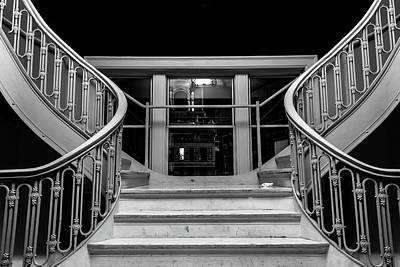 Photograph - The Stairwell by Kenny Thomas
