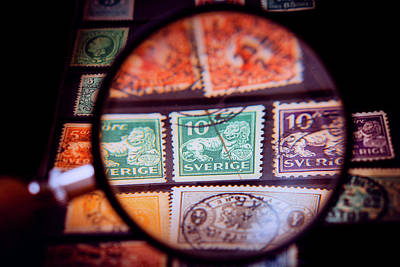 Photograph - The Stamp Collector by Arek Socha