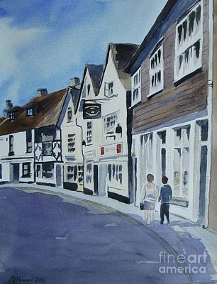 Painting - The Standard Inn, Rye by Martin Howard