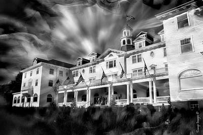 Photograph - The Stanley Hotel by Wesley Nesbitt