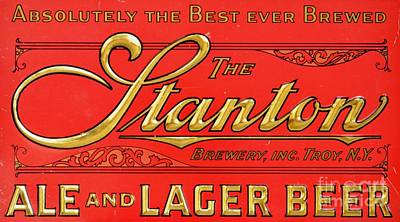 Painting - The Stanton - Ale And Lager by Roberto Prusso