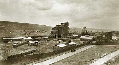 The Stanton Colliery Empire St. The Heights Wilkes Barre Pa Early 1900s Art Print