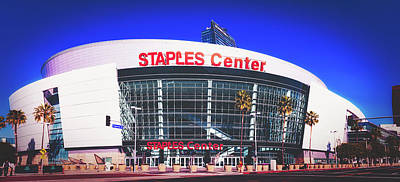 Photograph - The Staples Center - Los Angeles by Library Of Congress