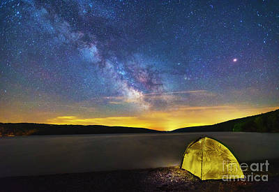 Stellar Camp Art Print