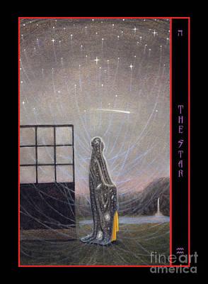 The Star Card Original by Leigh Meinhart