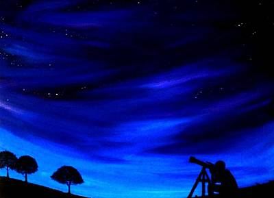 Painting - The Star Gazer by Scott Wilmot