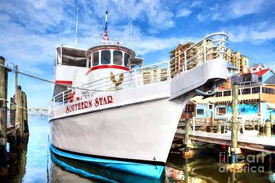 Photograph - The Star Of Destin Harbor by Mel Steinhauer