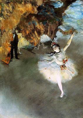 Degas Painting - The Star, Rosita Mauri by Edgar Degas