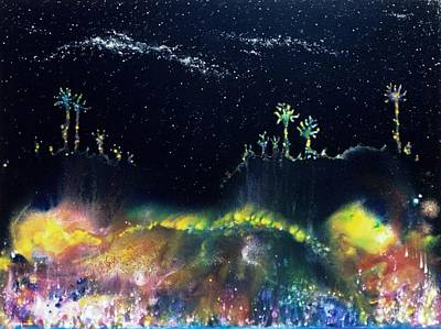 The Starfields Of Andromeda Print by Lee Pantas