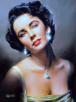 Painting - The Starlet by Dave Luebbert