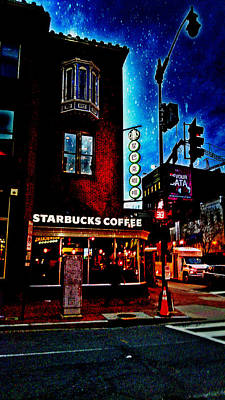 Photograph - The Stars At Starbucks by Kevin D Davis
