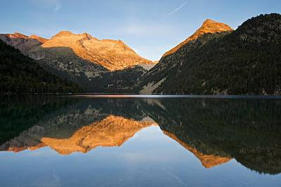 Digital Art - The Start Of Morning At Lac D'oredon by Stephen Taylor