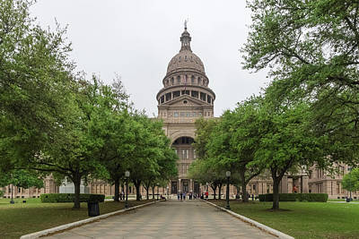 Photograph - The State Capital Of Texas by Usha Peddamatham