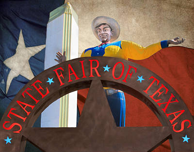 Photograph - The State Fair Of Texas by David and Carol Kelly