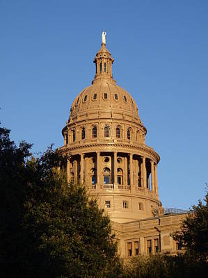 Photograph - The State Of Texas Capital I by James Granberry