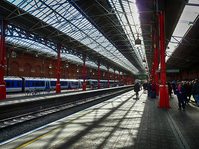 Photograph - The Station by Leah Palmer
