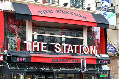 Photograph - The Station Paris by John Rizzuto