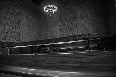 Photograph - The Station by Steve Gravano