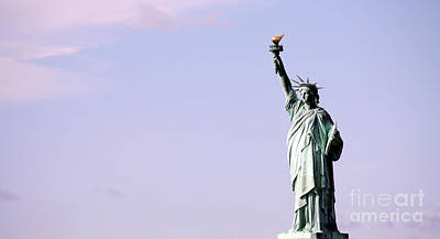 Photograph - The Statue Of Liberty by Wilko Van de Kamp
