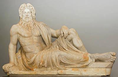 Photograph - The Statue Of Oceanus In Vatican Museum by Marek Poplawski